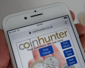 Coin Hunter App - A to Z 10p Coin Hunt
