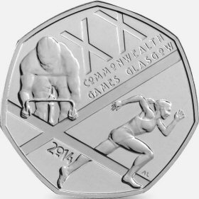 Commonwealth Games 50p Coin