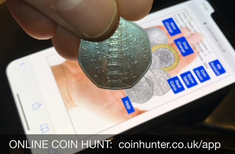 50p Coin Hunt