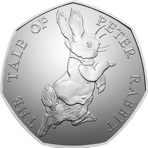 Peter Rabbit 50p