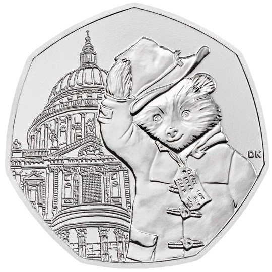 Paddington at St Paul's 50p