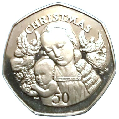 2000 Christmas - Madonna and Child (David Gerard)