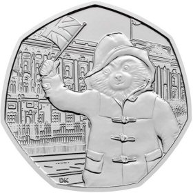 Paddington at Buckingham Palace 50p Coin