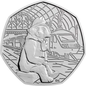 Paddington at the Station 50p Coin