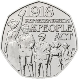 Representation of the People Act 50p Coin