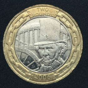 2006 Isambard Kingdom Brunel Engineer £2