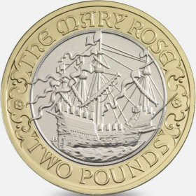 2011 Mary Rose £2