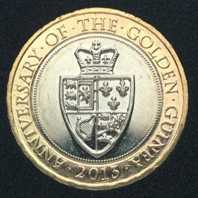 2013 Anniversary of the Guinea £2