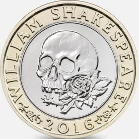 2016 Shakespeare Tragedies £2 Coin