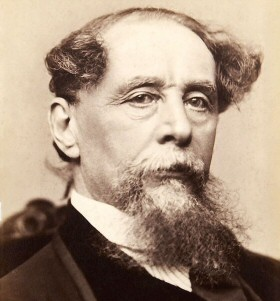 Charles Dickens in New York, circa 1867-1868