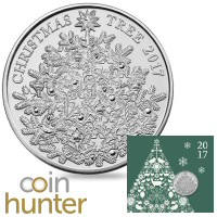 Christmas Tree £5 Coin Hunter