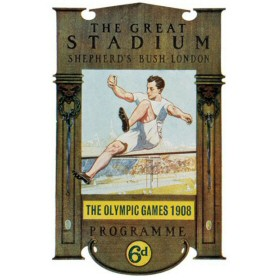 The Olympic Games 1908 Progarmme