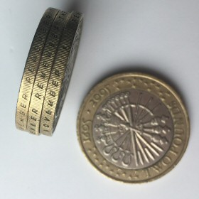 £2 Coin Error: Part of edge letter missing