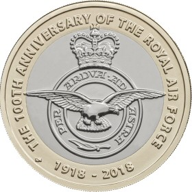 2018 Royal Air Force Centenary £2