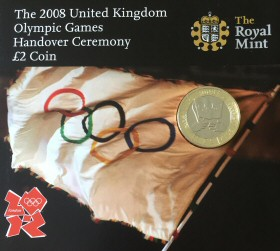 2008 Olympic Games Handover £2 Coin