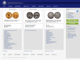 Classical Numismatic Group Inc