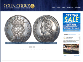 Colin Cooke Coins