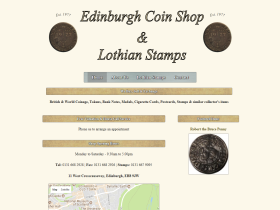 Edinburgh Coin Shop