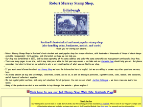 Robert Murray Stamp Shop
