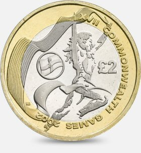 Commonwealth Games Northern Ireland £2 Coin