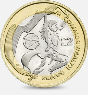 Commonwealth Games Scotland £2 Coin
