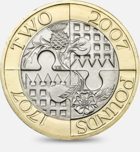 Act of Union Jigsaw £2 Coin