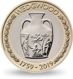 Wedgwood £2 Coin