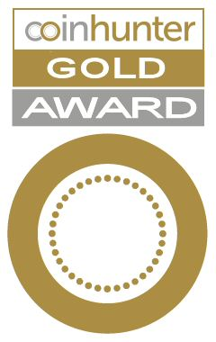 Coin Hunter Gold Award