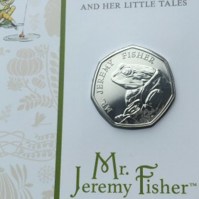 Jeremy Fisher Royal Mint Presentation Folder