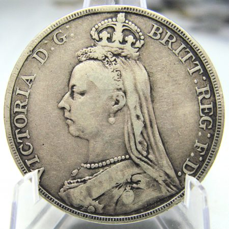 Victoria 1890 JH Crown