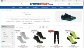 Athletics at Sports Direct