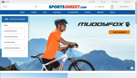 Cycling at Sports Direct