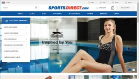 Swimming at Sports Direct