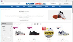 Volleyball at Sports Direct