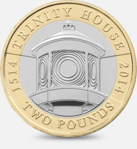Trinity House £2 is worth £2.75