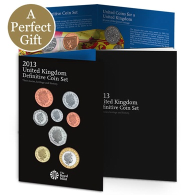 The 2013 United Kingdom Definitive Coin Set