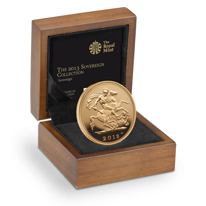 The 2013 UK Gold Brilliant Uncirculated Sovereign