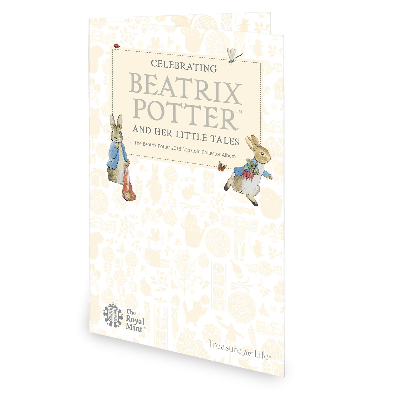 Beatrix Potter 2018 50p Coin Collector Album