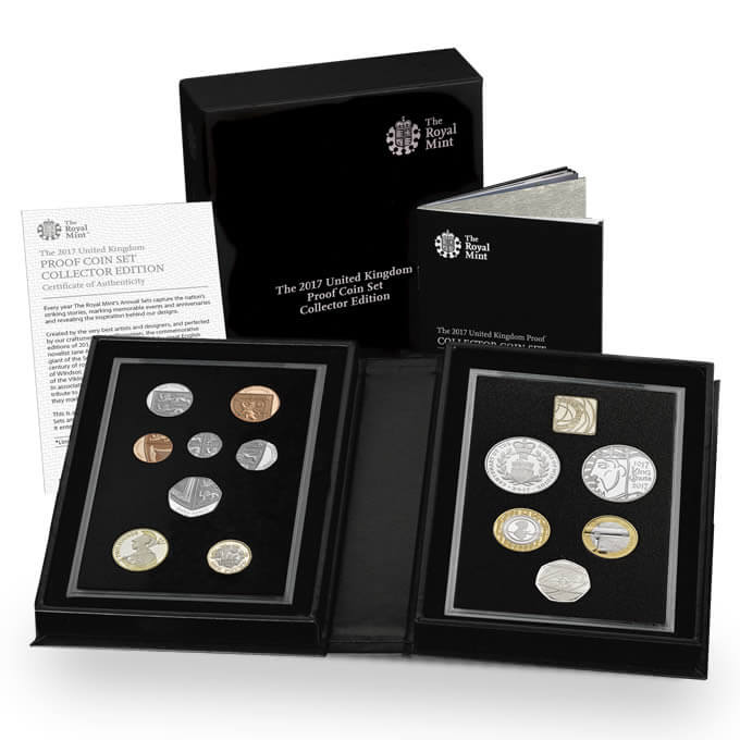 The 2017 United Kingdom Collector Proof Coin Set