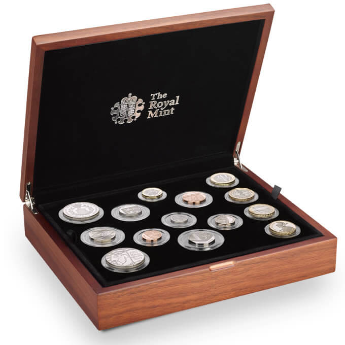 The 2017 United Kingdom Premium Proof Coin Set