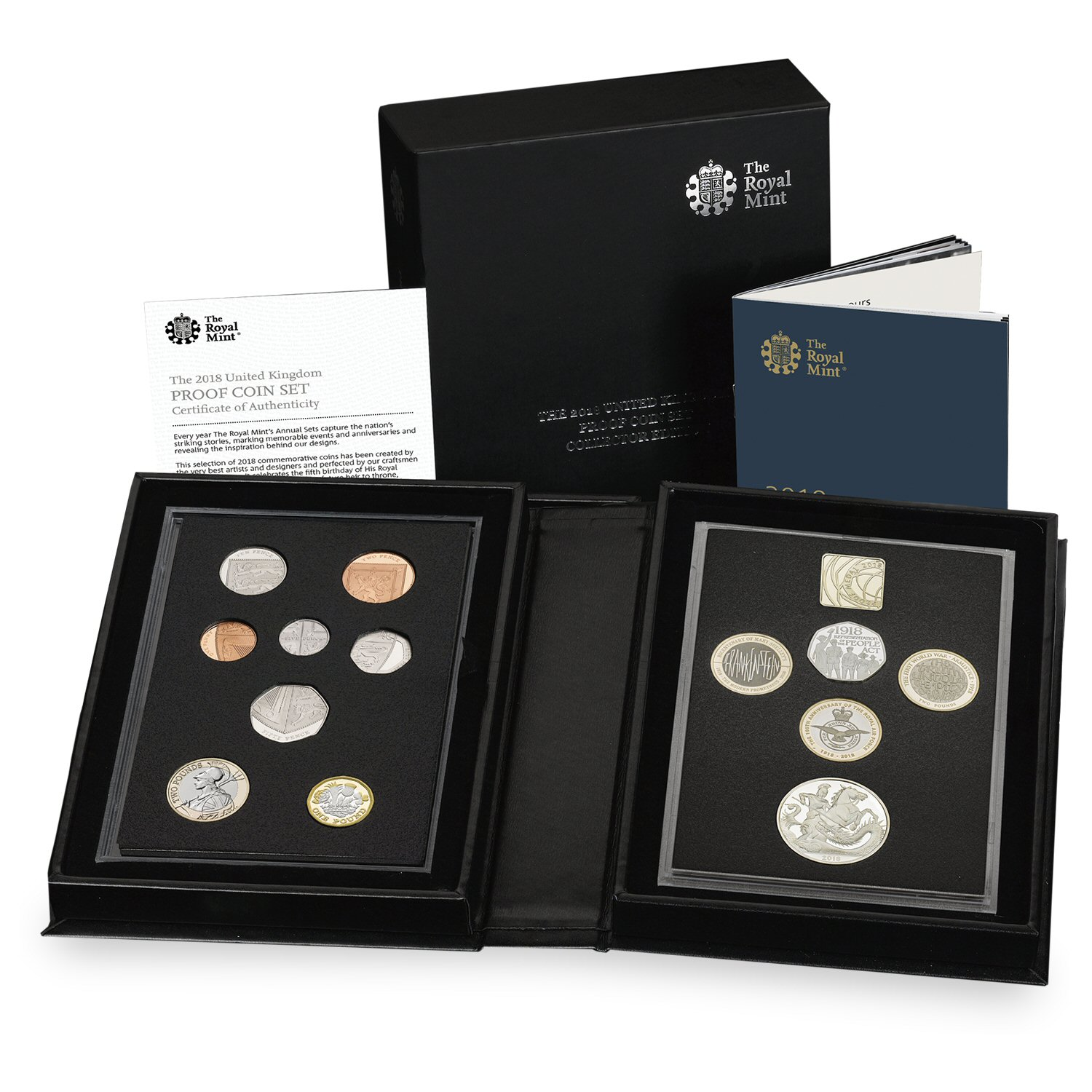 The 2018 UK Proof Coin Set
