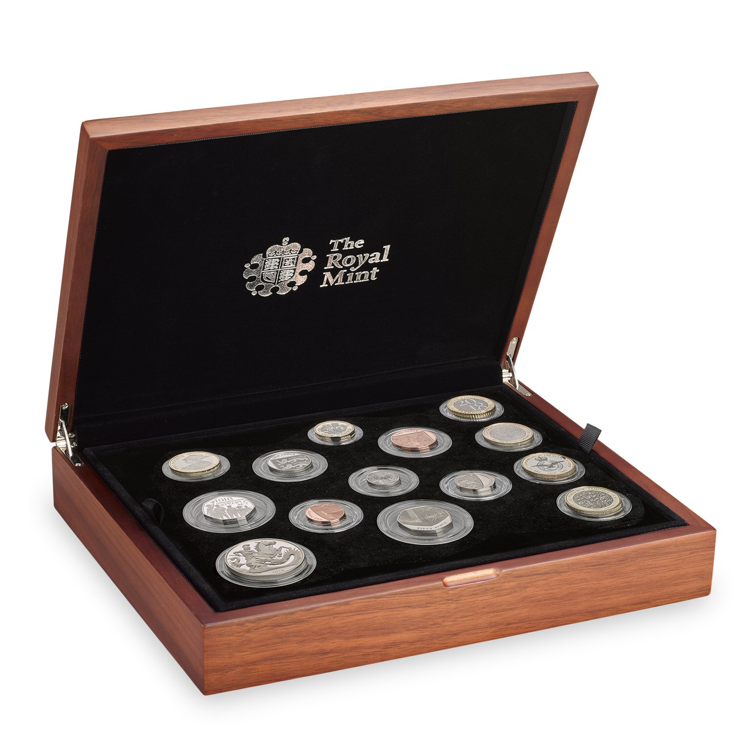 The 2018 United Kingdom Premium Proof Coin Set