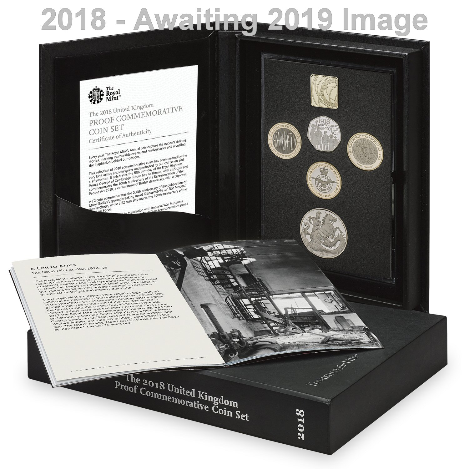 The 2019 UK Proof Commemorative Coin Set