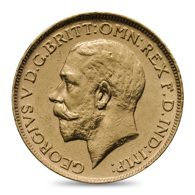 1916 George V Sovereign Extremely Fine