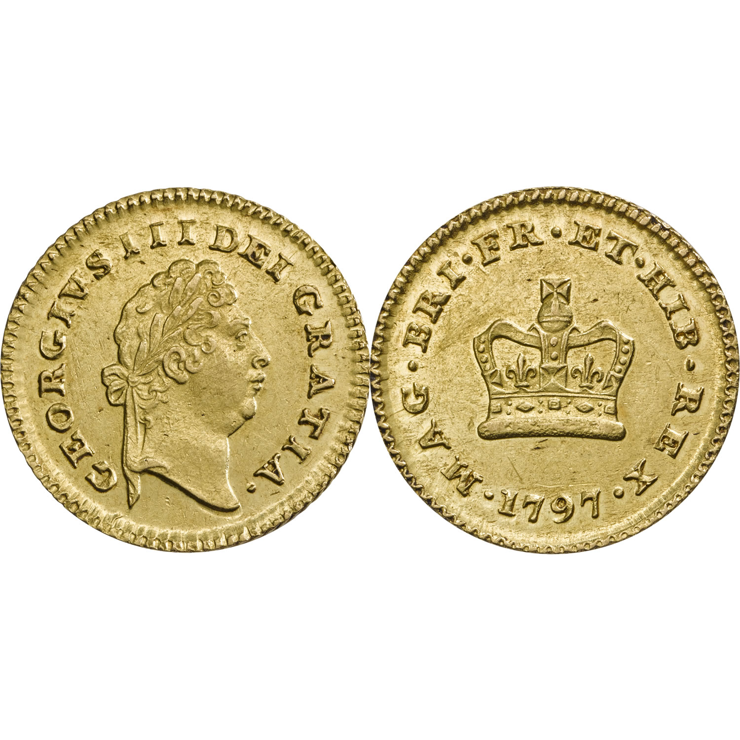 George III Military Third Guinea Fine or Better