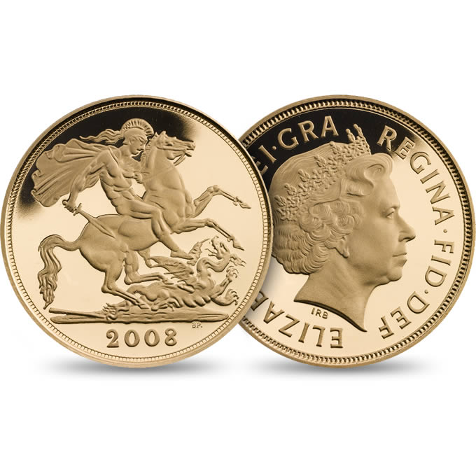 The 2008 Gold Proof Sovereign