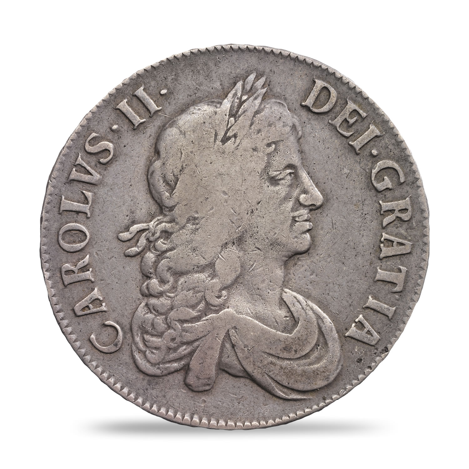 Charles II Crown Fine or Better