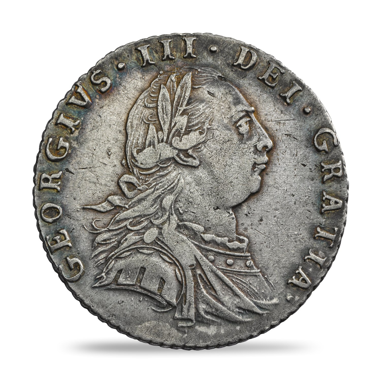 George III Sixpence Fine or Better