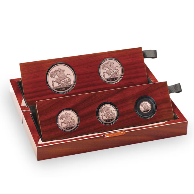 The Sovereign 2018 Five-Coin Gold Proof Set