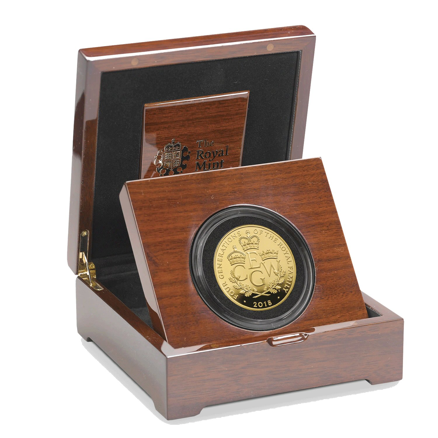 Four Generations of Royalty 2018 UK Gold Five-Ounce Coin